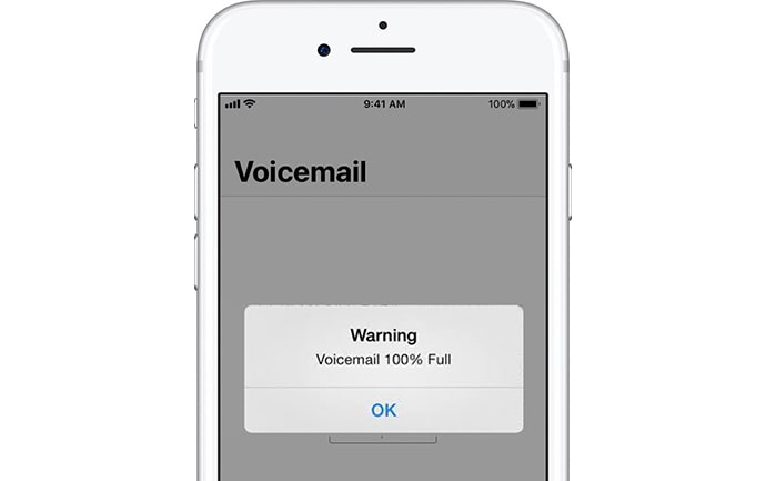 voicemail full