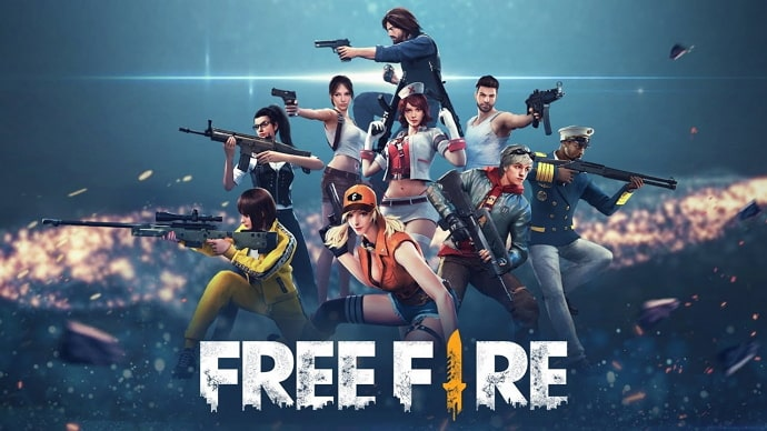 free fire names