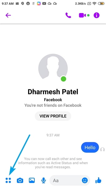 track location of facebook account