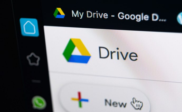 play mp4 files in google drive