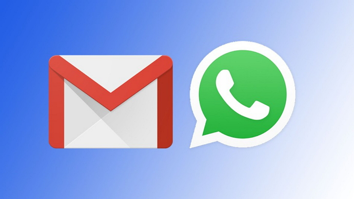 send emails from gmail to whatsapp