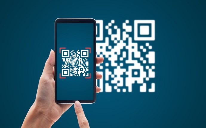 scan qr code inside your phone without using another phone